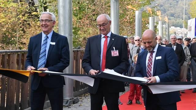 «Zusammen sind wir stark»: Feierlich wurde die Expo Brugg-Windisch eröffnet