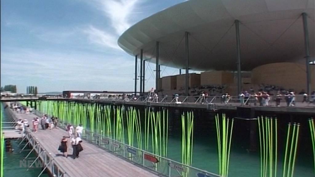 Rückblick auf die Expo02 im Seeland