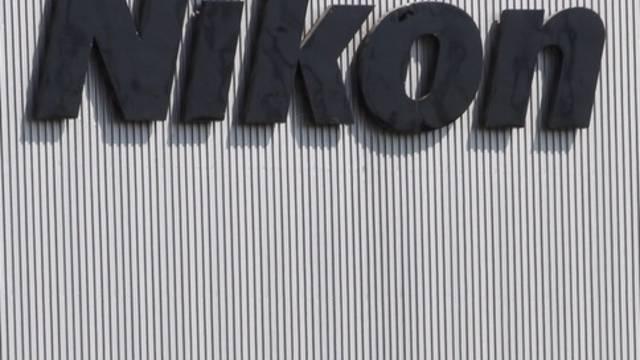 Der Schriftzug von Nikon (Archiv)
