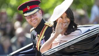 Ihre erste offizielle Auslandsreise geht nach Australien und Ozeanien: der britische Prinz Harry und seine Frau Meghan, Herzogin von Sussex.