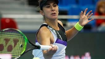 Belinda Bencic schafft am Hallenturnier in Moskau den Finaleinzug und sichert sich damit das Ticket für die WTA-Finals