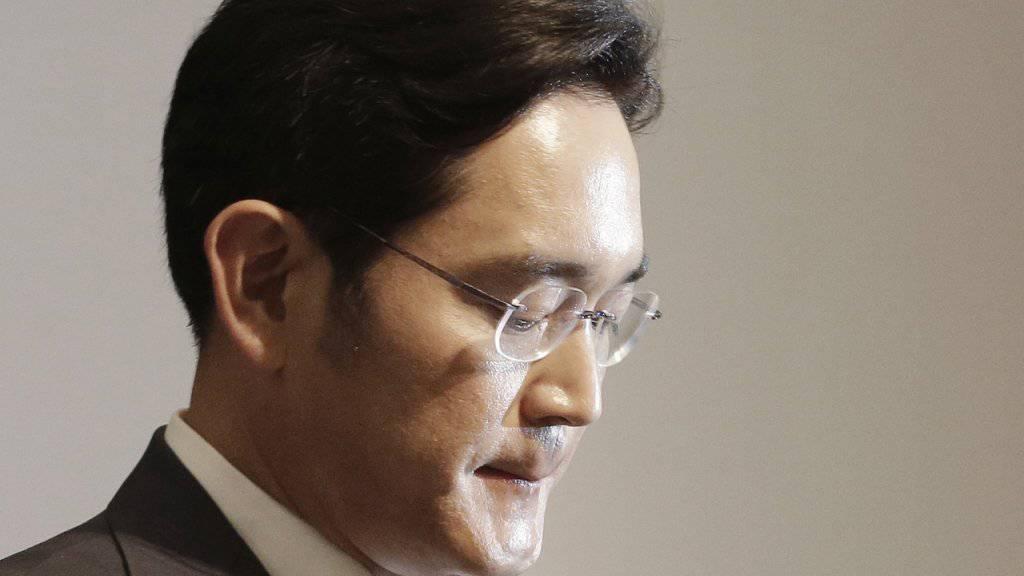 Muss sich vor Gericht verantworten: Lee Jae Yong, Chef der Samsung-Gruppe. (Archiv)