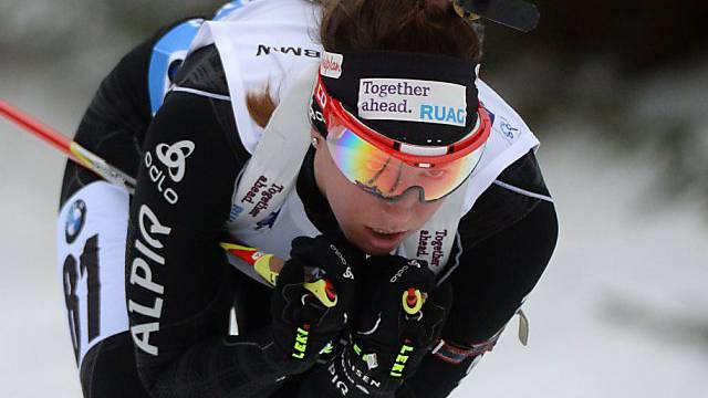 Biathletin Lena Häcki beste Schweizerin beim Sprint in Antholz