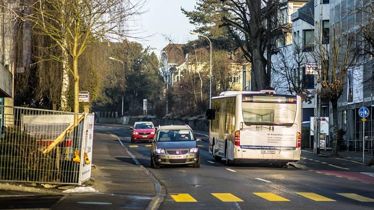 Bahnhofstrasse: Die Vorlage ist abgelehnt.
