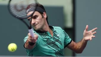 Roger Federer kam zum siebten Sieg in Folge
