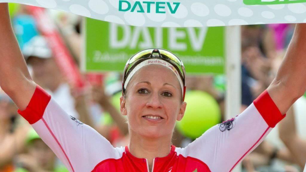 Daniela Ryf ist am Sonntag am Ironman Switzerland rund ums Zürcher Seebecken die Hauptattraktion