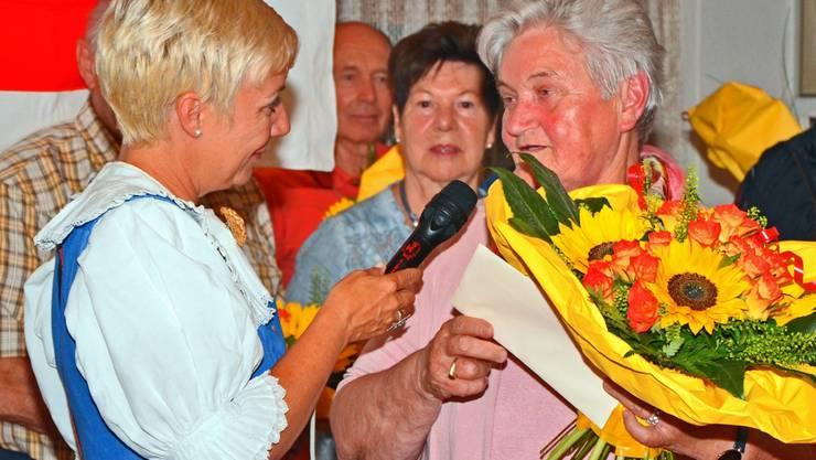 Die Boswilerin Rösly Veil war in den letzten vierzig Jahren für fünf unterschiedliche Dienstleistungen des Aargauer Roten Kreuzes tätig.