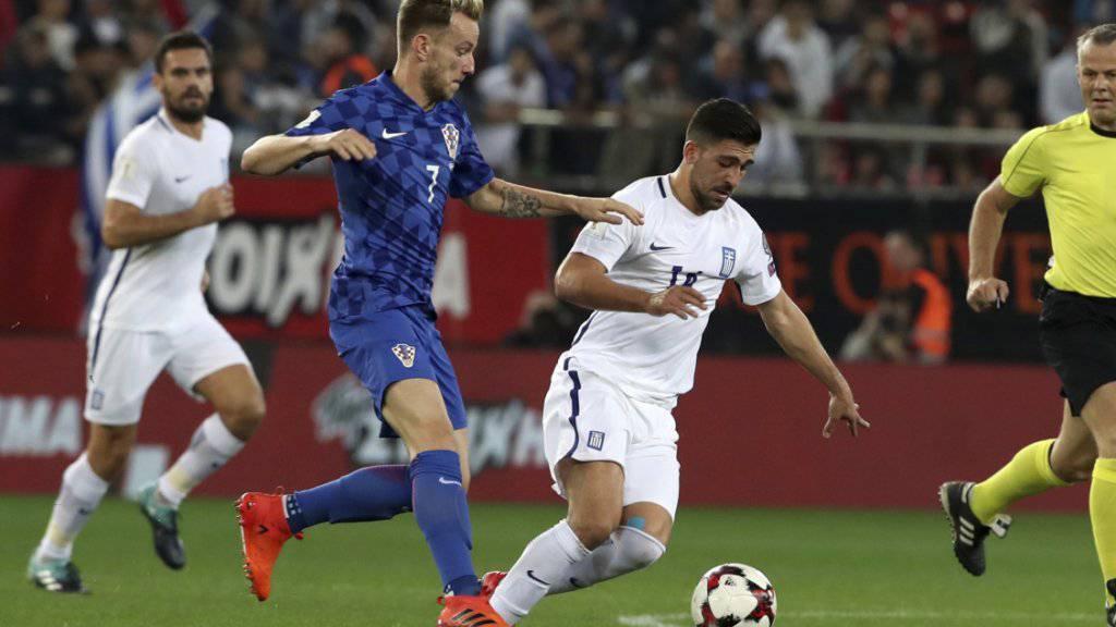 Der gebürtige Aargauer Ivan Rakitic qualifizierte sich mit Kroatien letztlich souverän für die WM-Endrunde in Russland