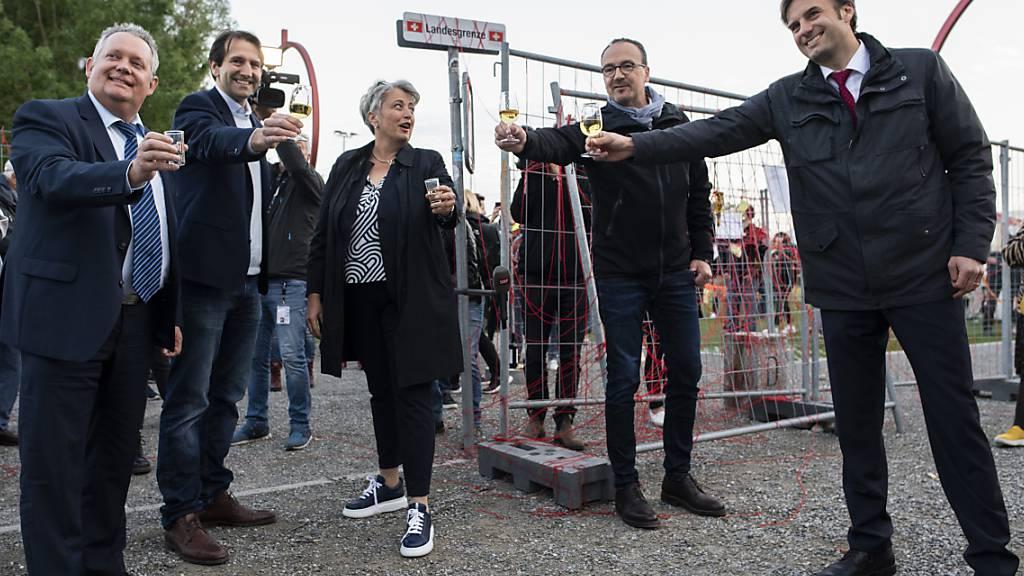 Kreuzlingen TG und Konstanz (D) setzen sich für offene Grenzen ein