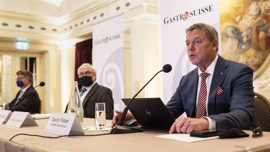 Gastrosuisse lanciert Initiative für Entschädigung im Pandemiefall