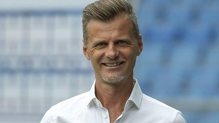 FCSG-Sportchef Alain Sutter freut sich über die Verpflichtung von Mittelfeldspieler Lukas Görtler