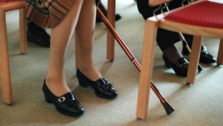 Die Ablehnung der Reform der Altersvorsorge ist einen Monat vor vor der eidgenössischen Abstimmung gemäss einer Tamedia-Umfrage leicht gesunken. (Themenbild)