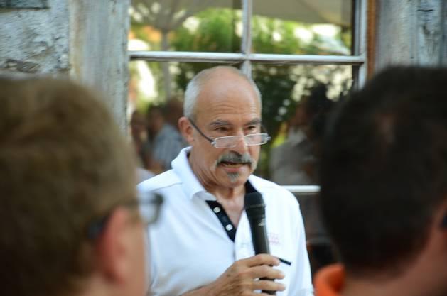 Marcel Fluri, Stiftungsratspräsident der Stiftung Arbeitskette, die das Stürmi führt
