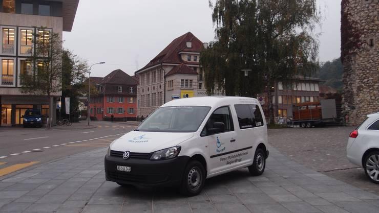 Es ist morgens um 8 Uhr: Luna, das neue Fahrzeug der VRRB steht bereit für ihren ersten Einsatz