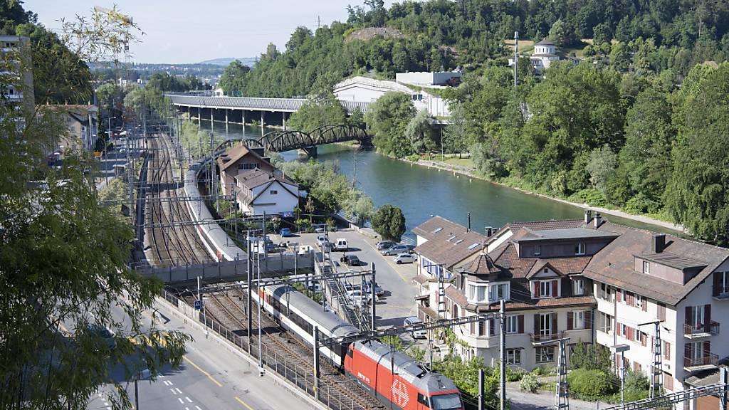 Das Fluhmühlequartier in Luzern, wo die Autobahn mit einer Brücke erschlossen werden soll. (Archivaufnahme)