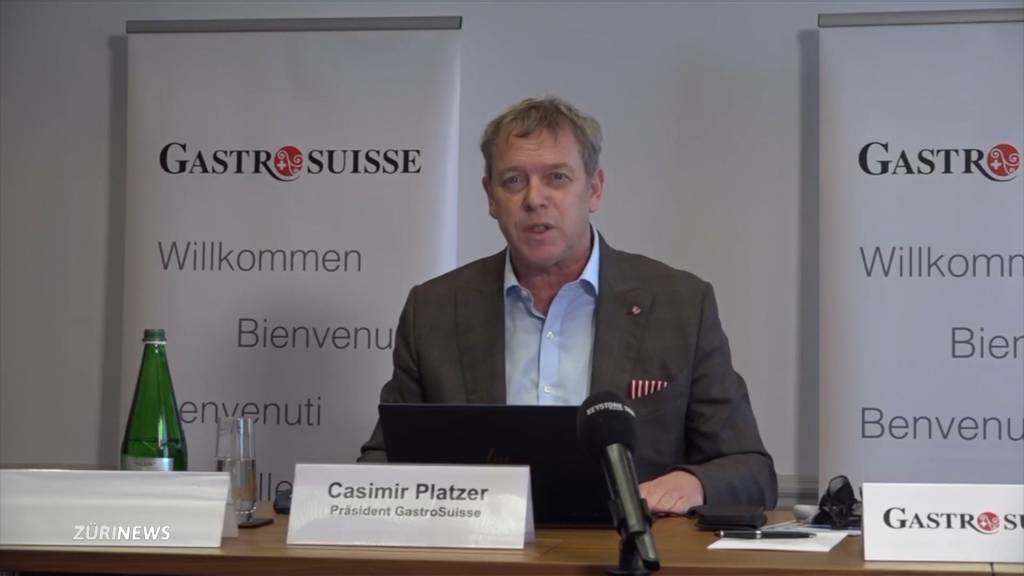 «Absurd»: Gastro-Suisse ist enttäuscht von den Lockerungsplänen des Bundesrates