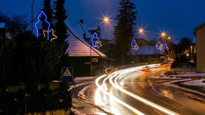 Weihnachtsbeleuchtung Würenlos