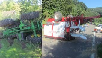 Traktorunfall in Villmergen