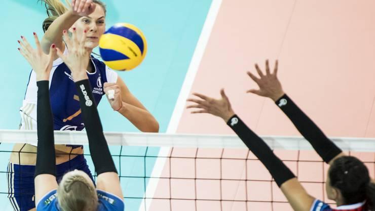 Alessia Rychlijuk steuerte 30 Gewinnpunkte um Triumph gegen die Türkinnen bei