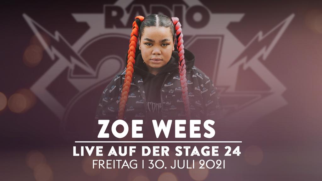 Erlebe Zoe Wees live auf der Stage 24!