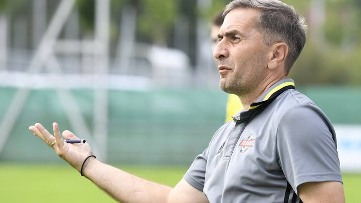 Baden-Trainer Ranko Jakovljevic ist nicht zufrieden.