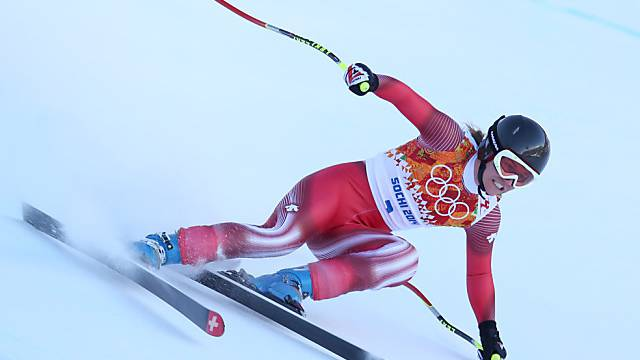 Fabienne Suter glänzte im letzten Training mit Rang 2.