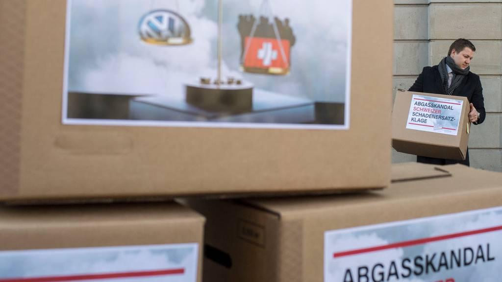 Die Stiftung Konsumentenschutz zieht Diesel-Gate vor Bundesgericht