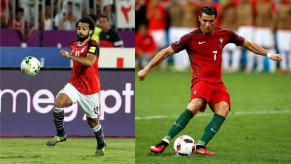 Das Duell zwischen Mohamed Salah und Cristiano Ronaldo gibt's heute in Zürich.