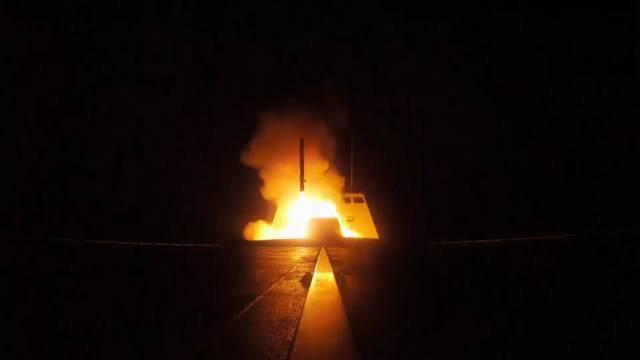 Wegen Chemiewaffen: Militärschläge gegen Syrien ausgeführt