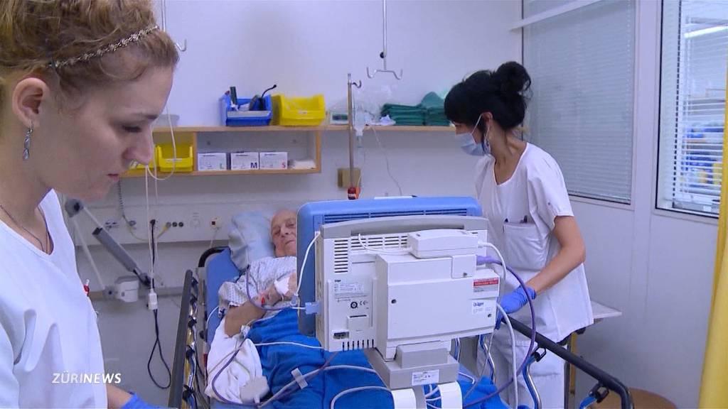 Pflege-Förderung: Initianten mit Gegenvorschlag des Nationalrats unzufrieden