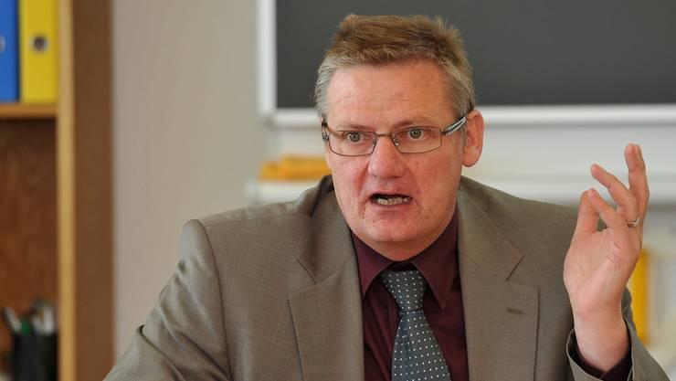 Andreas Walter ist Chef des Amtes für Volksschule und Kindergarten des Kantons Solothurn.