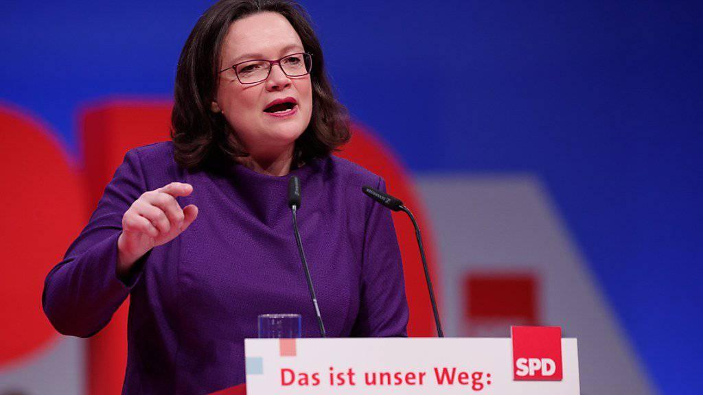 SPD-Spitze für Sondierungen mit Union