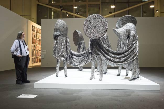 Nick Cave, Speak Louder, 2011. Jack Shainman, New York.
