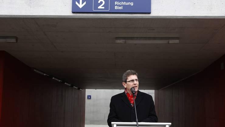 Ansprache von Stadtpräsident Erich Fehr