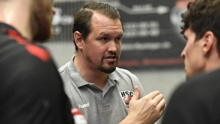 HSC-Trainer Misha Kaufmann erwartet gegen den BSV das gewohnt schwierige Spiel.