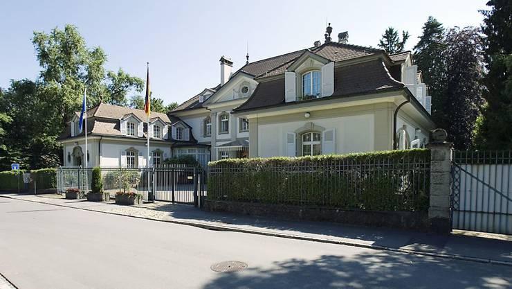 Norbert Riedel, Botschafter der Bundesrepublik Deutschland, hat seinen Sitz in Bern (Archivbild)