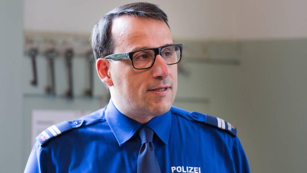 Ralph Hurni Kommandant Stadtpolizei St.Gallen