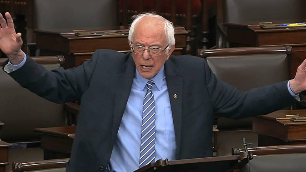 Bernie Sanders gibt Kandidatur auf