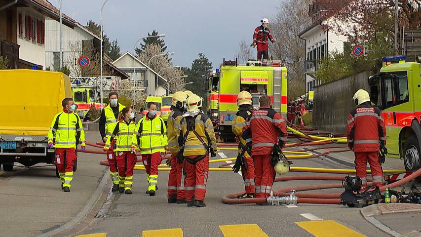 Schwerzenbach (ZH): Restaurantbrand verursacht Millionenschaden