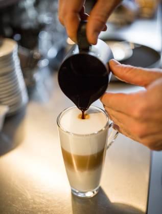 Latte Macchiato: Gibt es im «Kafi Zwoi» nicht mehr lange.