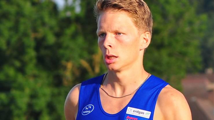 Dem Langenthaler Adrian Lehmann gelingt in Bleienbach ein souveräner Start-Ziel-Sieg.