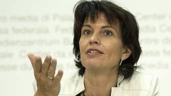 Bundesrätin Doris Leuthard stellte fest, dass eine Besprechung mit Vertretern der Strassenlobby zurzeit nichts bringt.