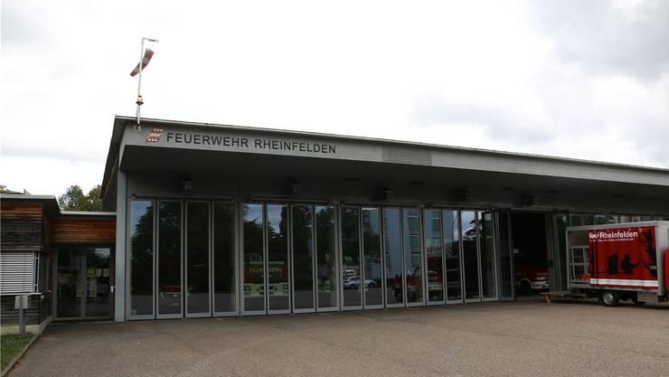 Die Stadt Rheinfelden stellt das Dach des Feuerwehrmagazins für die Solaranlage zur Verfügung.