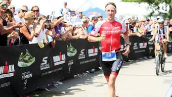 Daniela Ryf gewinnt den Ironman 70.3 von Rapperswil. (Archivbild)