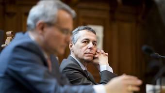 In Sachen Rahmenabkommen gelte «Qualität vor Timing», sagte Bundesrat Ignazio Cassis gestern.