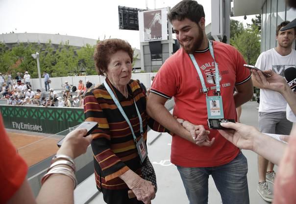 Marco Trungelliti war mit seiner Grossmutter in den Ferien in Barcelona