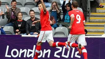 Olympia-Fussball: Schweiz gegen Gabun