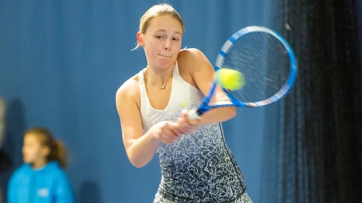 Sophie Lüscher musste sich im Halbfinal geschlagen geben.