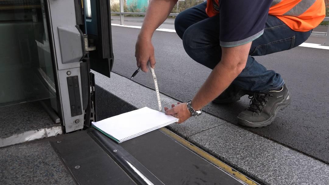 Zum ersten Mal mit dem Tram über das neue Limmattalbahn-Trassee: die Testfahrt im Video