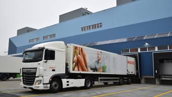 Einweihung des neuen Logistikcenters der Migros in Neuendorf